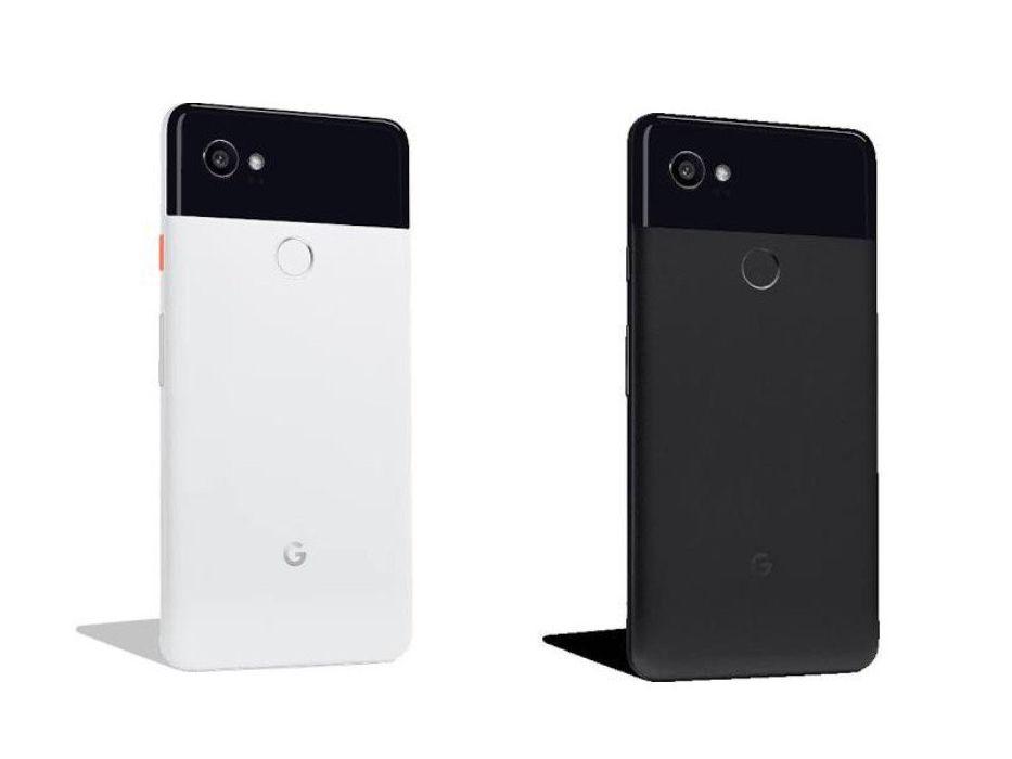 рендеры Google Pixel 2