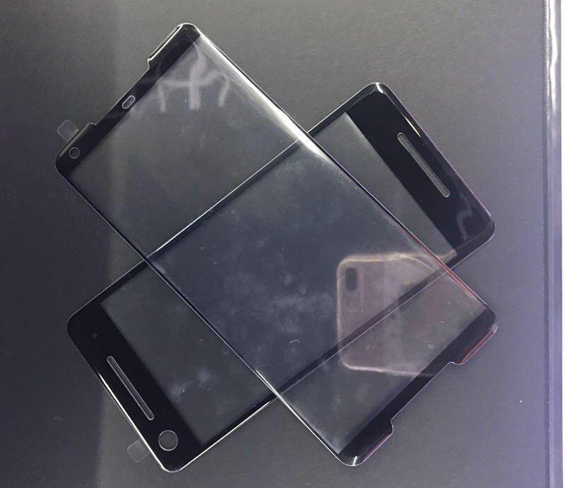 экраны Google Pixel 2 и Pixel 2 XL