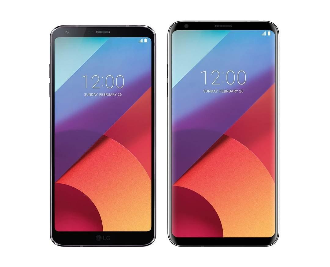 LG G6 и LG V30