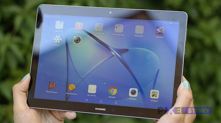 Обзор планшета Huawei MediaPad T3 10 - качество экрана