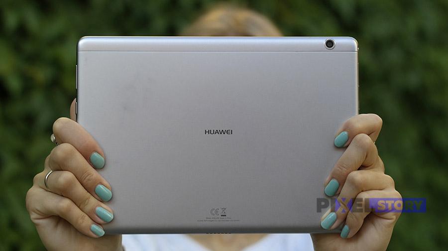 Обзор планшета Huawei MediaPad T3 10 - алюминиевый задник