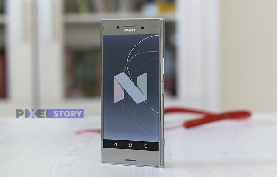Обзор Sony Xperia XZ Premium - Android 7.1.1 Nougat и оболочка Xperia UI