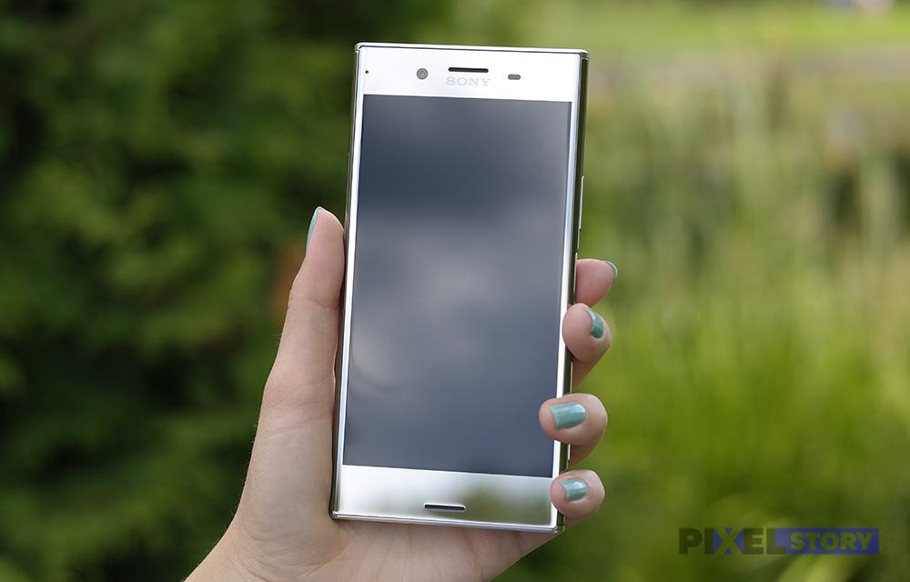 Обзор Sony Xperia XZ Premium - дизайн