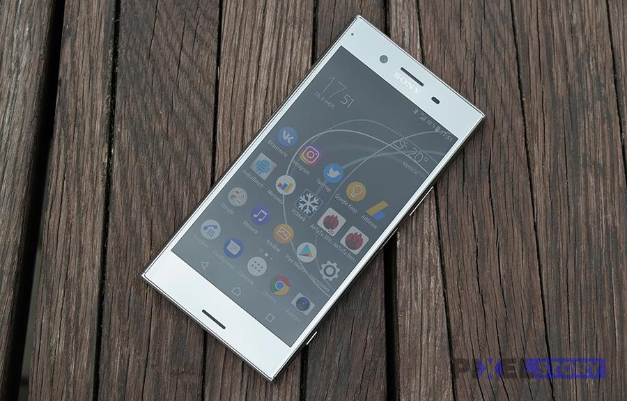 Обзор Sony Xperia XZ Premium - качество 4K экрана