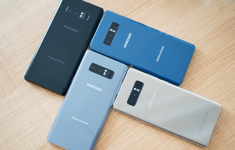 дизайн Galaxy Note 8