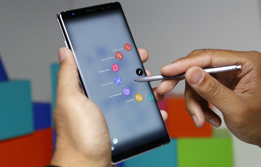 стилус Galaxy Note 8