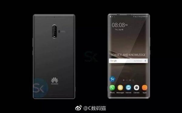 Рендеры Huawei Mate 10