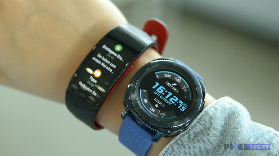 Samsung Gear Sport и Gear Fit2 Pro