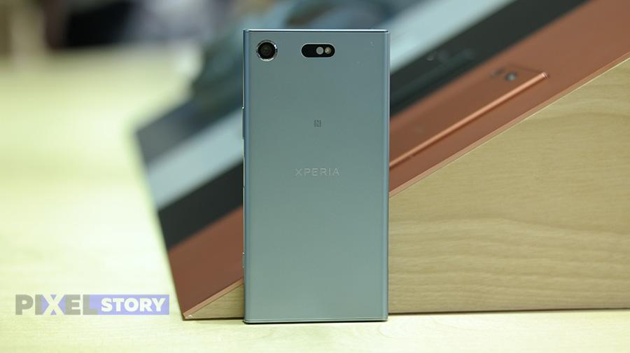 обзор Sony Xperia XZ1 Compact
