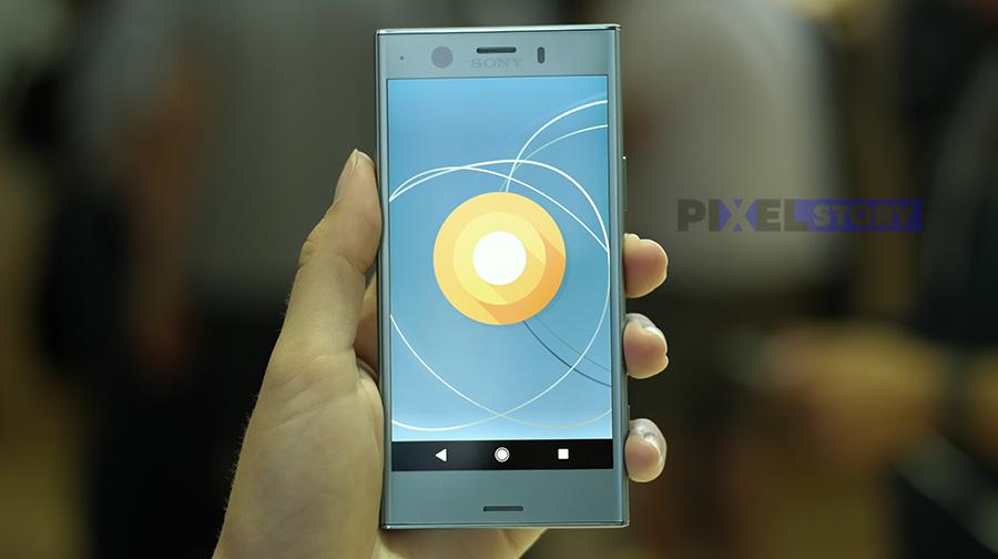 Xperia XZ1 Compact работает из коробки на базе Android 8.0 Oreo