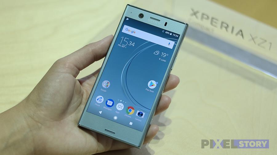 Экран Xperia XZ1 Compact