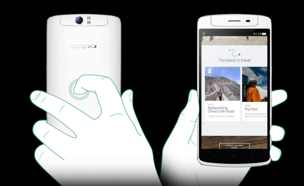 панель O-Touch от Oppo