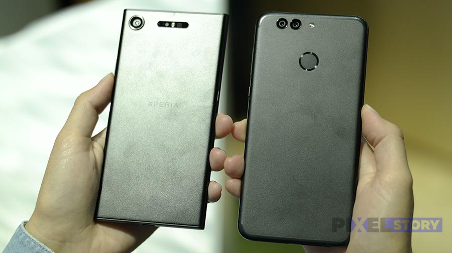 Сравнение Xperia XZ1 и Huawei Nova 2 Plus