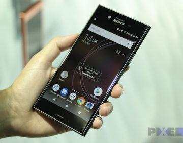 Быстрый обзор Sony Xperia XZ1