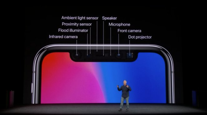 Apple iPhone X Face ID