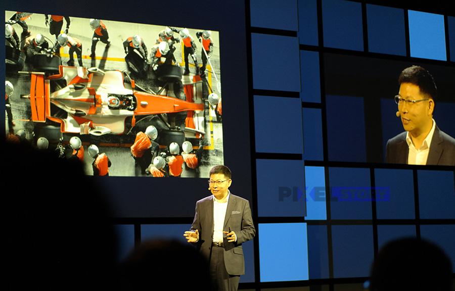Ричард Ю рассказывает о Kirin 970 на IFA 2017