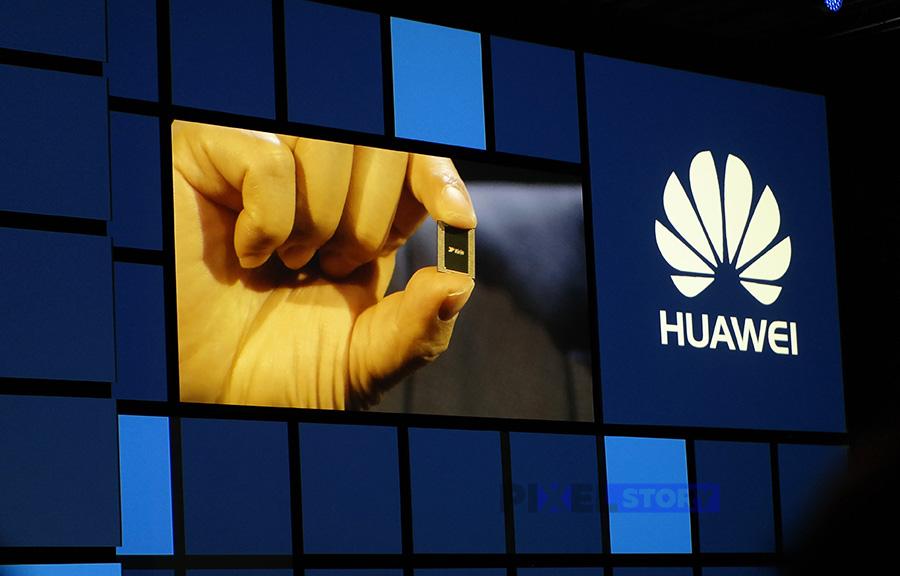 чипсет Huawei Kirin 970 c NPU