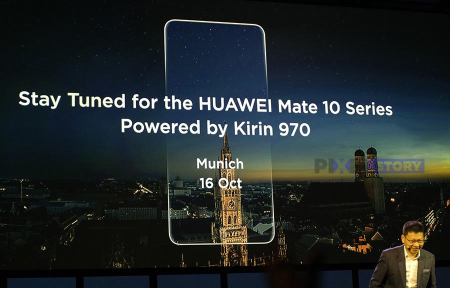 Huawei Mate 10 - первый смартфон Kirin 970