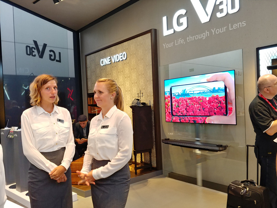 Сравнение камер LG V30 и LG G6