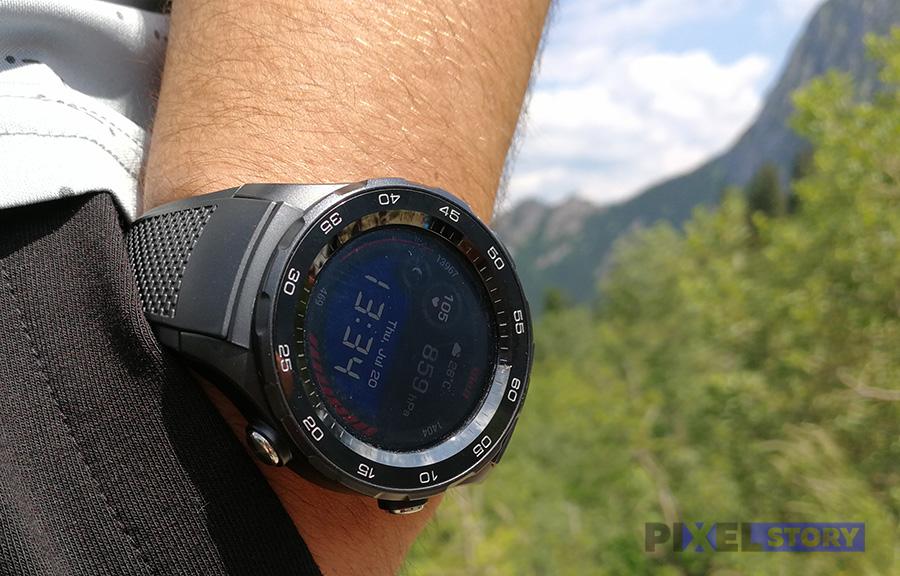 обзор Huawei Watch 2 Sport