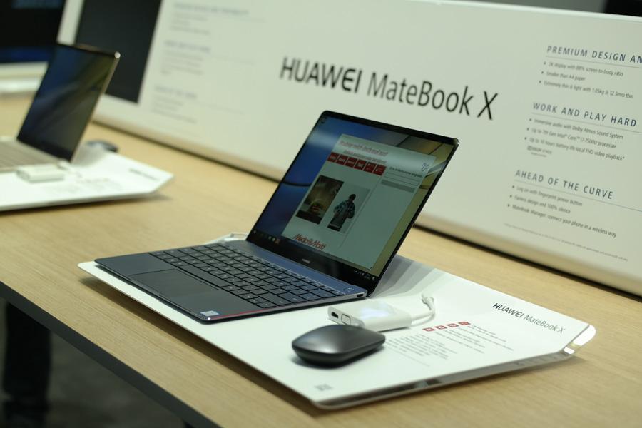 Первый взгляд на Huawei MateBook X