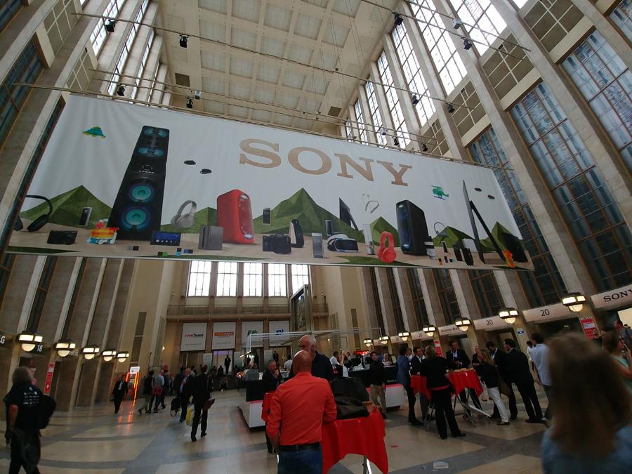 павильон Sony на IFA 2017
