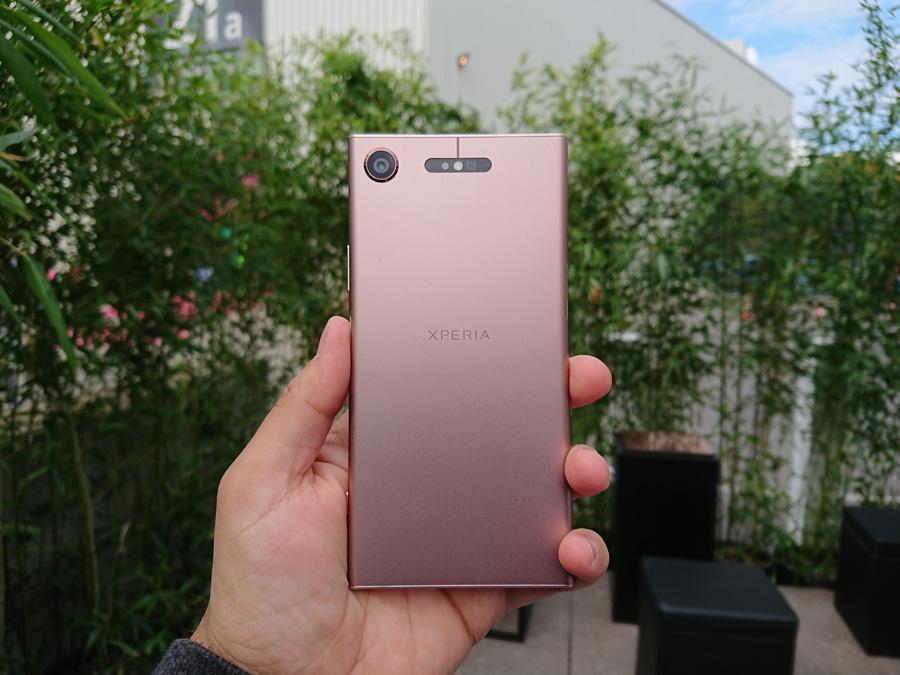 Xperia XZ1 фото для сравнения камер