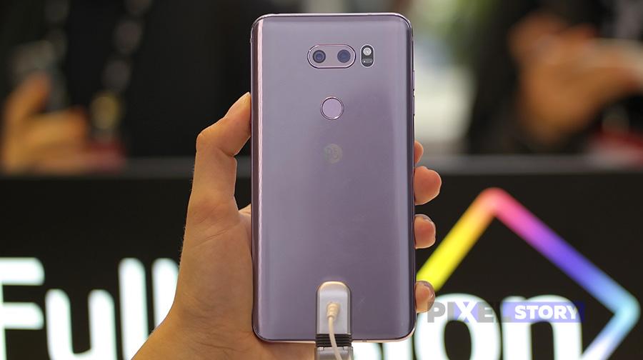 Быстрый обзор LG V30