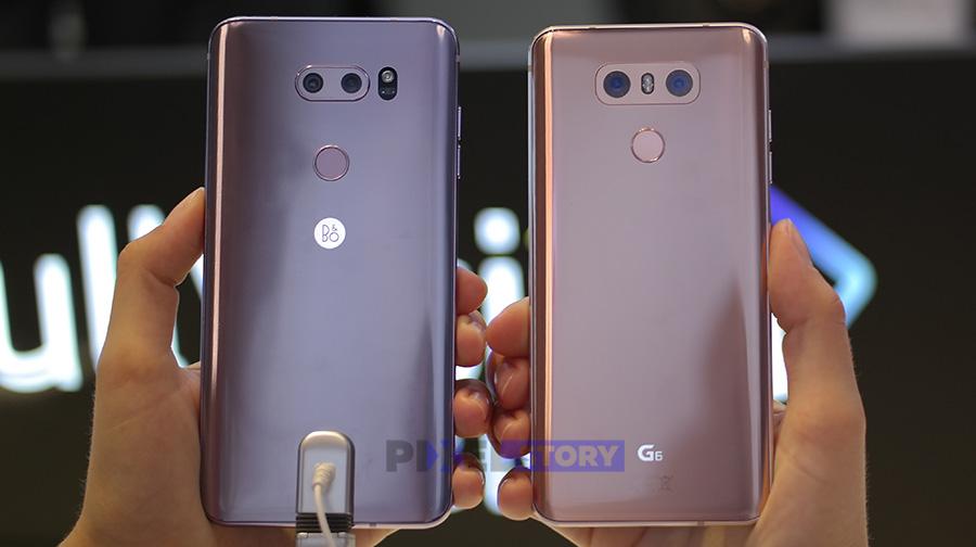 Сравнение LG V30 и LG G6