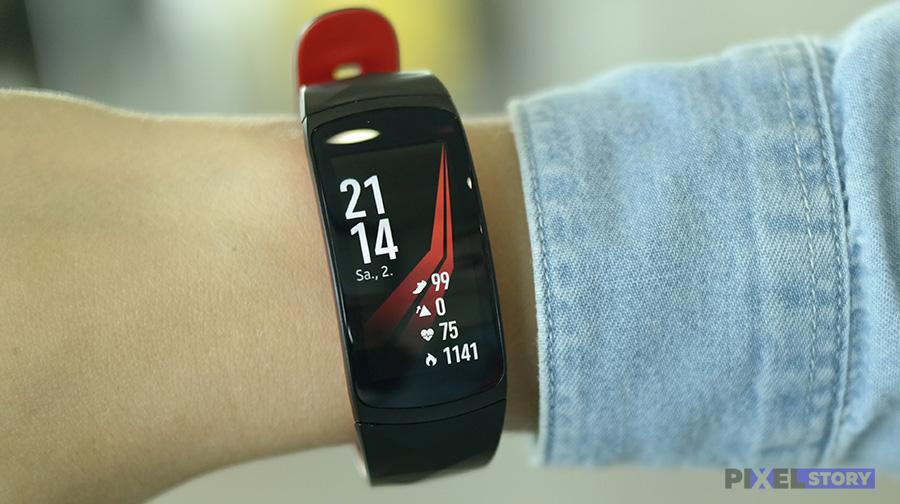 обзор Samsung Gear Fit 2 Pro