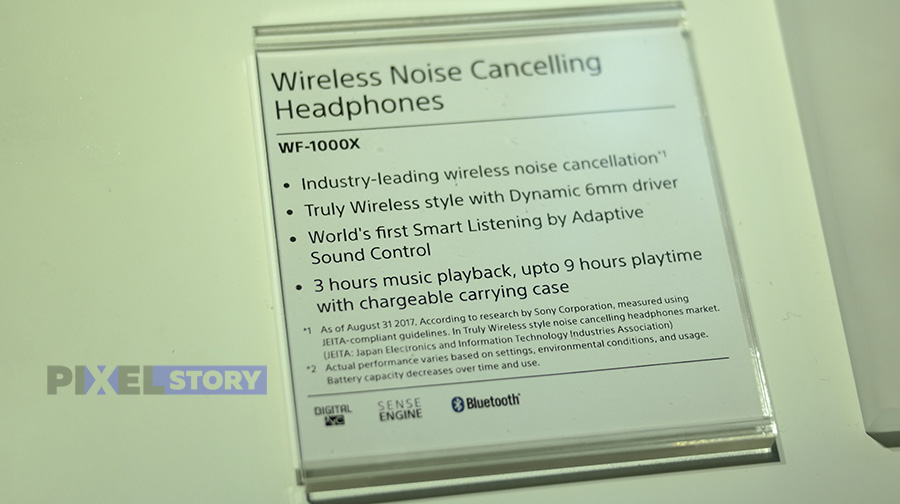 Краткий обзор Sony WF-1000X