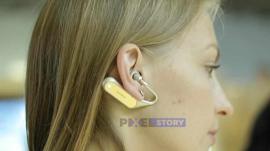 Концепт Xperia Ear Open Style на IFA 2017