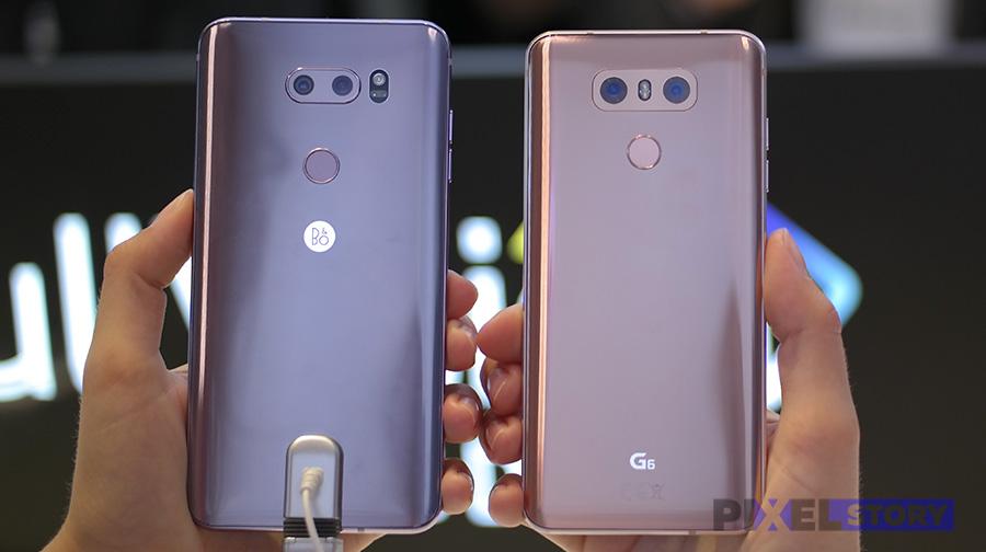 LG V30 vs LG G6