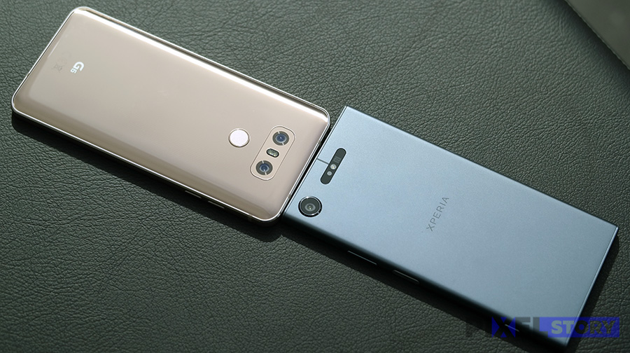 Xperia XZ1 vs LG G6