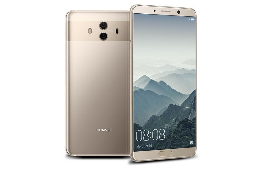 Huawei Mate 10 в серебристом цвете тоже ничего такой