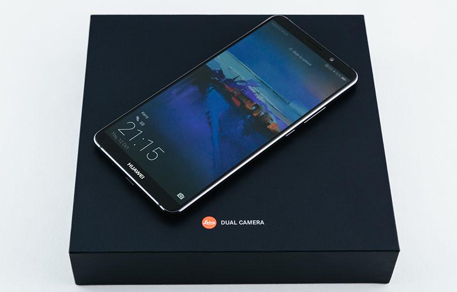Коробка Huawei Mate 10 и Mate 10 Pro