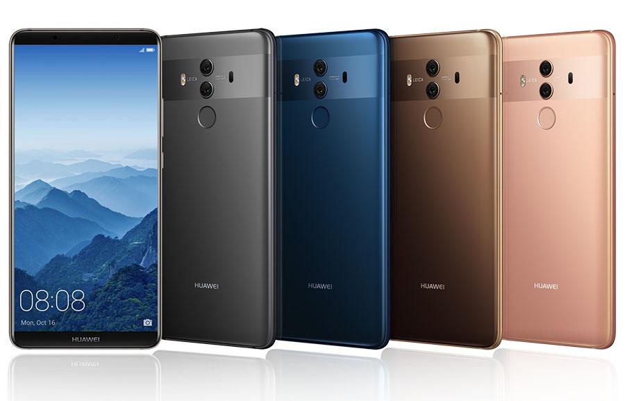Дизайн Huawei Mate 10 Pro