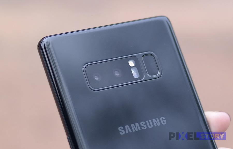 Обзор камеры Samsung Galaxy Note 8 - съемка портретов