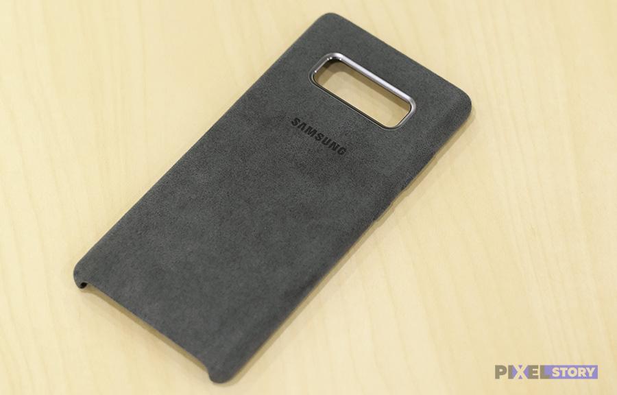 Обзор чехла Alcantara Cover Galaxy Note 8