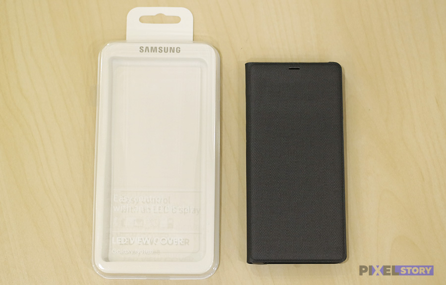 Обзор чехла LED View Cover Galaxy Note 8