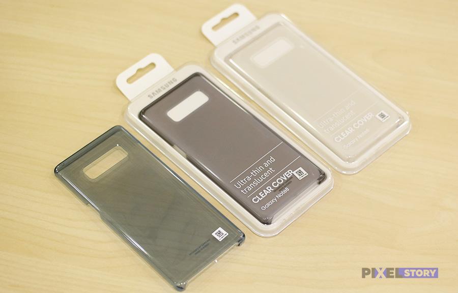 Обзор чехла Clear Cover Galaxy Note 8
