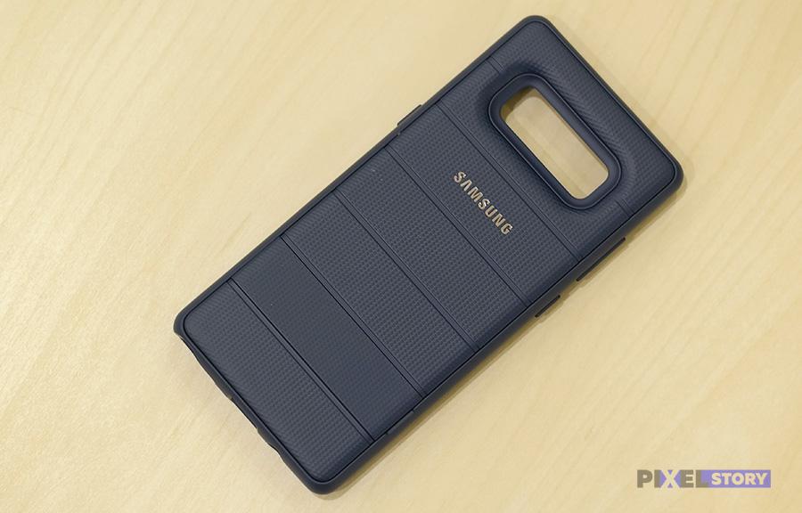 Обзор чехла Protective Standing Cover Galaxy Note 8
