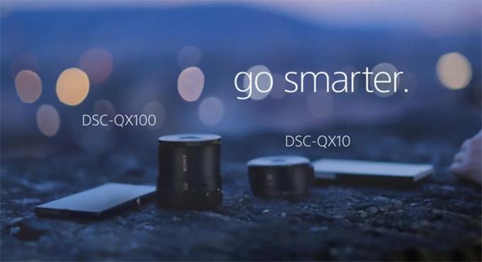 Доступно обновление прошивки для QX100 и QX10