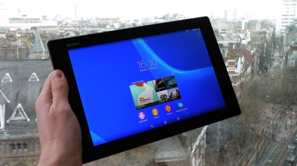 распаковка Sony Xperia Z2 Tablet видео