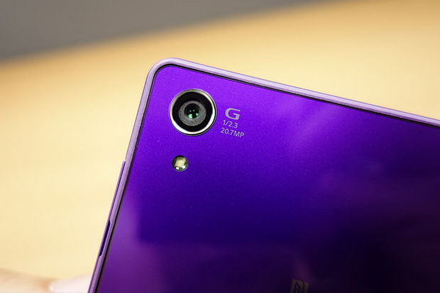фиолетовый Xperia Z2, камера
