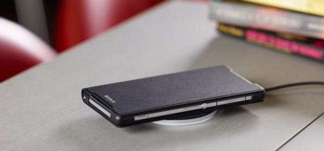 Sony представили Беспроводная зарядка Sony WCH10