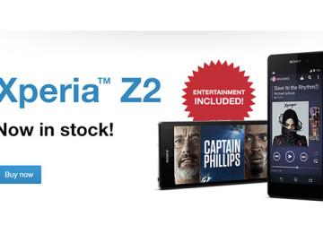 началились продажи Xperia Z2 в Европе и цены