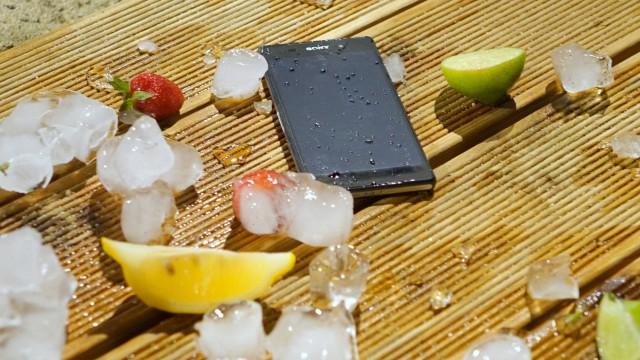 Xperia Z2 - морозоустойчивость на отличном уровне