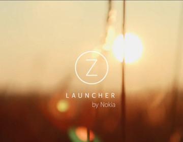 Первое Android приложение от Nokia - оболочка Z Launcher