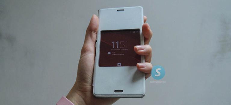Обзор Sony SCR 24 чехол для Xperia Z3